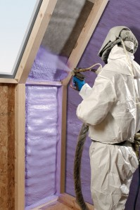 WALLTITE_spray_foam_insulation_being_applied